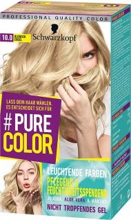 SCHWARZKOPF PURE COLOR Coloration 10.0 Blonder Engel Stufe 3 143 ml