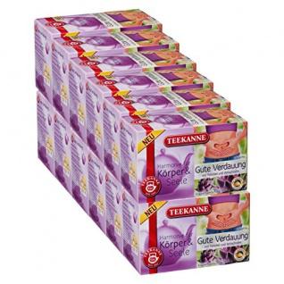 Teekanne Harmonie für Körper und Seele Gute Verdauung 12er Pack