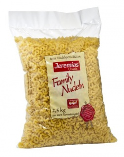 Jeremias Hörnchen, Classic Frischei-Family-Nudeln, 2500g