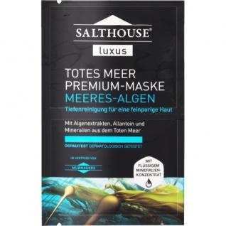 Murnauer Salthouse Luxus Totes Meer Premium-Maske Meeres-Algen 2x5ml