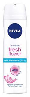 Nivea Deo Fresh Flower Spray, ohne Aluminium, 6er Pack (6 x 150 ml)