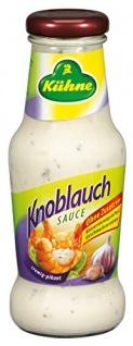 Kühne Würzsauce Knoblauch, 250 ml D, A, F, NL, GB, GR, 1er Pack (1 x 250 ml)