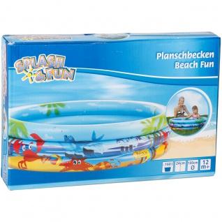 Planschbecken Beach Fun Splash und Fun aufblasbar 100 cm x 24 cm