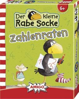 Amigo Rabe Socke Zahlenraten Ein tolles Spiel für Kinder ab 6 Jahren - Vorschau