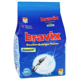 ZHG Bravix Geschirr Reiniger Pulver Compact für Spülmaschinen 1800g