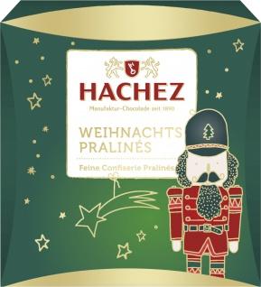 Hachez Weihnachtspralinen Feine Confiserie Pralines Inhalt 40g