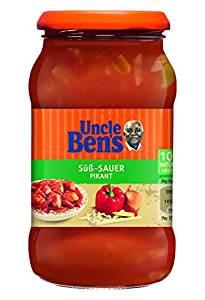 Uncle Ben's Saucen Süß-Sauer Pikant, 400 g