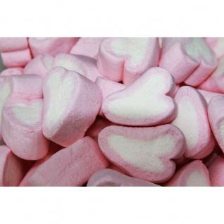 Mellow Mellow Speck Herzen mit Vanille Erdbeer Geschmack 1000g