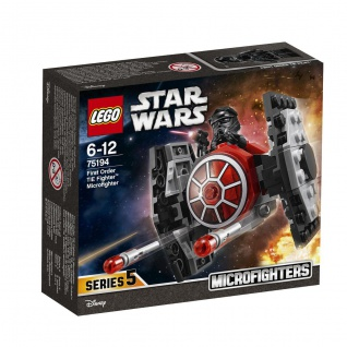 Lego Star Wars 75194 First Order TIE Fighter Großer Microfighter