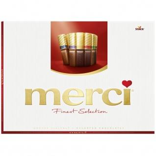 Storck Merci Finest Selection Schokoladen Spezialitäten 675g