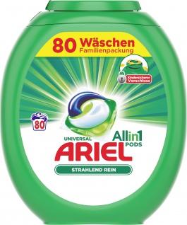 Ariel ALL-IN-1 Vollwaschmittel ALLin1 Pods Reg. 80WL