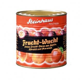 Steinhaus Frucht Wucht Pfirsich Maracuja Apfel Püree 2650 ml