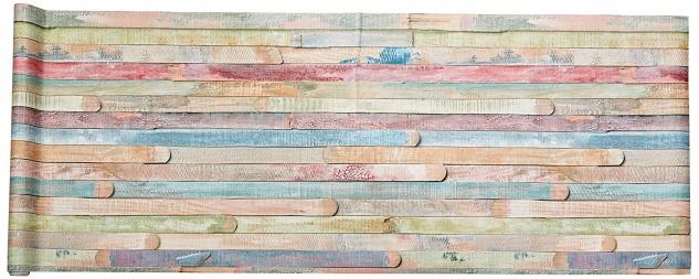 D-C-FIX - Folie, ideale selbstklebende Möbelfolie - Design Rio - buntes Holz