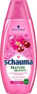 Schauma Shampoo - Premium Nature Moments Kanadische Cranberry & Wildrose 400ML