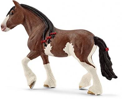 Schleich 13809 Spielzeugfigur Clydesdales Stute detailgetreu