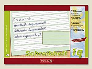 Schreiblernheft Lineatur 1q DIN A5
