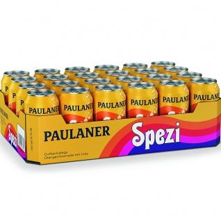Paulaner Spezi erfrischende Orangenlimonade mit Cola 330ml 24er Pack