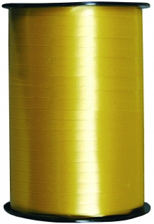 Kraeuselband glatt gold 500 m