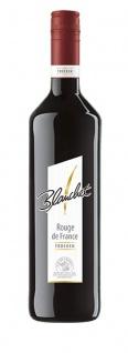 Blanchet Rouge de France Rotwein trocken mit fruchtigem Aroma 750ml 6er Pack