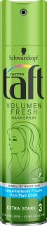 3 WETTER TAFT Haarspray Volume Fresh Extra Starker Halt 3 250ml