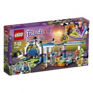 Lego Friends 41350 Autowaschanlage Bringe das Gokart auf Hochglanz