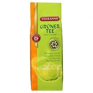 Teekanne Grüner Tee China Auslese duftig frischen Geschmack 250 g