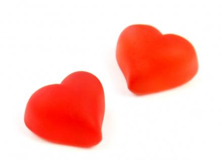 Fruchtgummi rote Kirsch Herzen ohne Zucker zuckerfreie Herzen 1000g