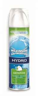 Wilkinson Hydro Rasierschaum Sensitiv für empfindliche Haut 250ml 3er Pack