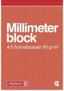 Millimeterblock DIN A3