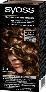 Syoss Professional Performance Coloration, 5-8 Haselnuss, 5er Pack (5 x 1 Stück)