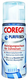 Corega Purfrisch Reinigungsschaum 125ml