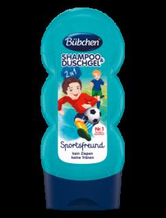 Bübchen Shampoo and Shower Sportsfreund für Kinder 230ml 8er Pack