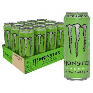 Monster Energy Ultra Paradise Erfrischungsgetränk 500ml 12er Pack