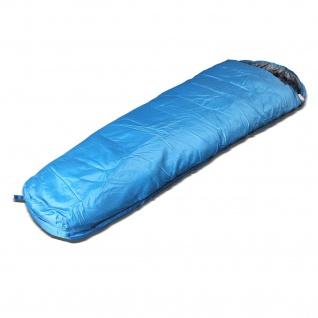 Sunsmile Mumienschlafsack Partnerschlafsack Reißverschluss rechts
