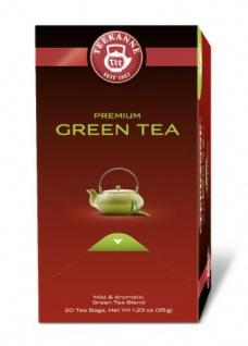 Teekanne Premium Green Tea Mild Sencha pure Entspannung 5er Pack