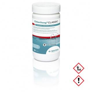 Bayrol Desinfektion Chlorilong Classic Clorodor Control Kapsel 1200g