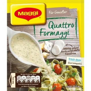 Maggi Für Genießer Quattro Formaggi würzig pikante Käse Sauce 42g