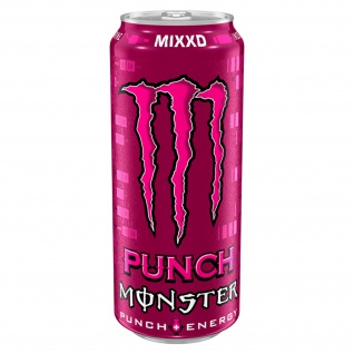 Monster Punch Energy Mixxd leicht kohlensäurehaltig 500ml 24er Pack