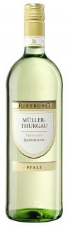 Rietburg Wappen - Pfalz Müller-Thurgau QbA trocken 1 l 12%