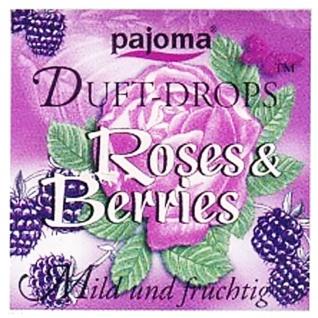 Pajoma Duft Drops Roses Berries mild fruchtig Duftessenzen 11g