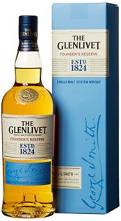 The Glenlivet Founder's Reserve Single Malt Scotch Whisky (1 x 0.7 l)