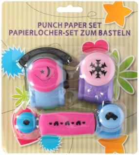 Papierlocher Set