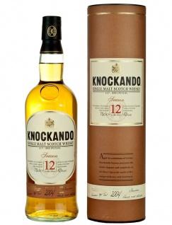 Single Highland Malt, 12 Jahre, Schottland 0, 7 l von Knockando