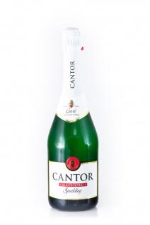 Cantor alkoholfrei Sekt alkoholfreies schäumendes Getränk 750ml 3er Pack