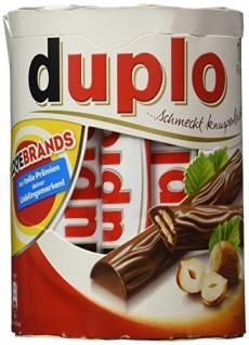 Ferrero Duplo Schokoriegel aus Vollmilchschokolade 10 Riegel