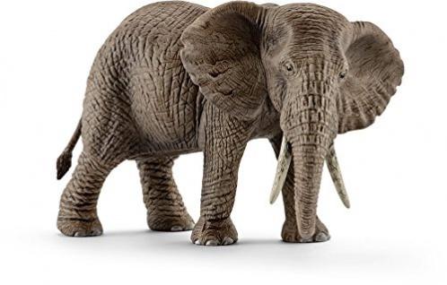 Schleich 14761 Spielzeugfigur Afrikanische Elefantenkuh handbemalt