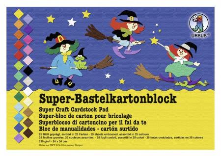 Fotokarton Super-Bastelblock