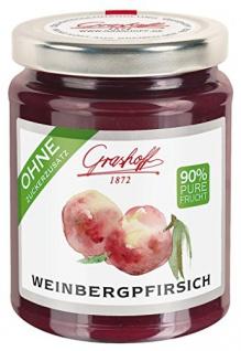 Grashoff - Weinbergpfirsich - 230g