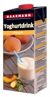 Naarmann Yoghurtdrink Pfirsich erfrischend wärmebehandelt 1000ml