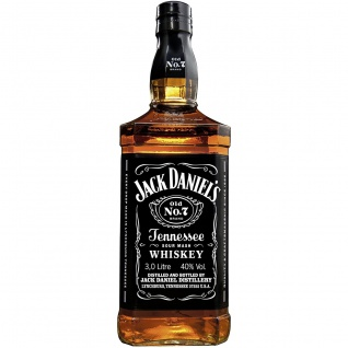 Jack Daniels Old No.7 Tennessee Whiskey Magnumflasche 3000ml